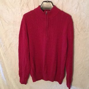 💎 temporary price reduction IZOD red zip sweater